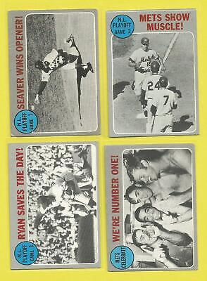 1970 TOPPS Baseball  #197 NL Playoff Nolan Ryan Saves the Day  VG..see scans