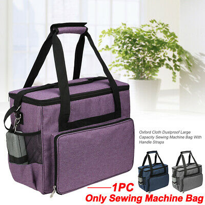 Padded Sewing Machine Bag Storage Cover Carry Case w Pocket Handles