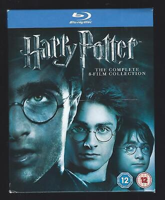 HARRY POTTER The Complete 8-Film Collection - Blu-Ray Disc - Daniel Radcliffe