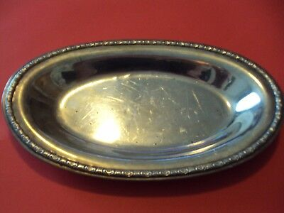 Sterling Silver Prelude  Oval Tray International Silver Co