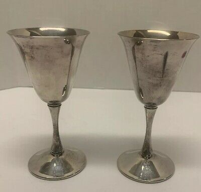 fb rogers silverplate italy 2 cups