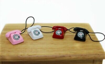 Doll House Accessories 1:12th Miniature 1 Telephone
