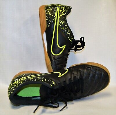 Authentic Indoor Soccer Shoes Style S160QN Black//Green