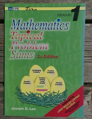 Singapore Math Primary 1 Mathematics Topical Problem Sums 2nd Ed Homeschool Book