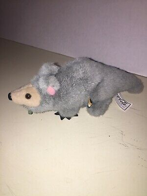 1999 International Coca-Cola Bean Bag Plush Rat