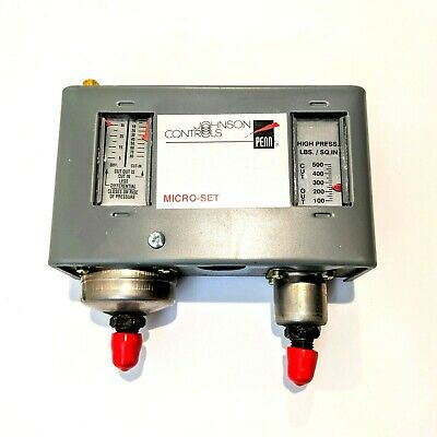 Johnson Controls P70LA-130 Micro-Set Dual Pressure Control