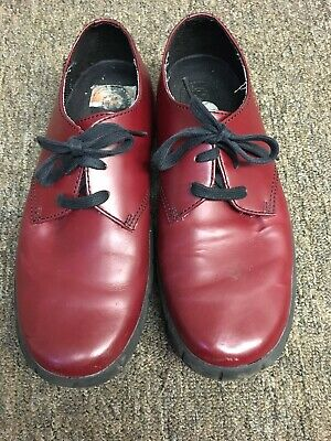 Dr. Martens Doc Men's Red Lace Up Casual Shoes Size 8
