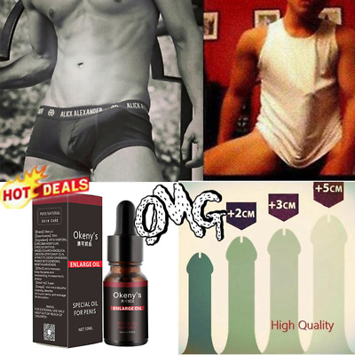 MALE PENIS ENLARGER GROWTH Faster Oil Enlargement BIGGER Dick Cream Extender&&