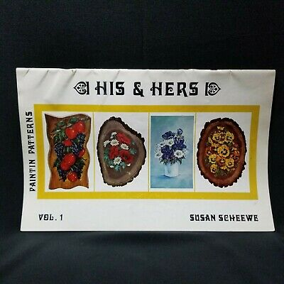 Vintage Susan Scheewe Vol. 1 His & Hers Paintin Patterns 1977