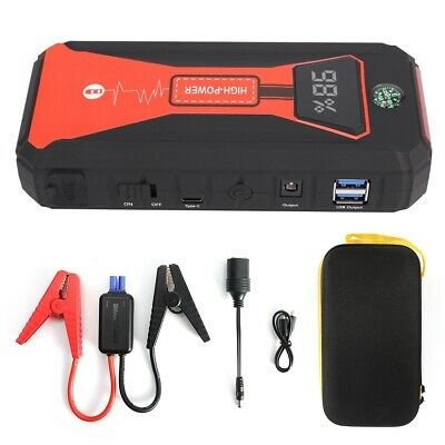 2000A 12V Car Portable Jump Starter Battery Charger Power Emergency Power Banks