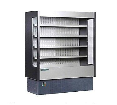 MVP Group KGH-OF-80-R Open Refrigerated Display Merchandiser