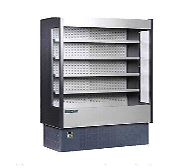 MVP Group KGH-OF-80-S Open Refrigerated Display Merchandiser