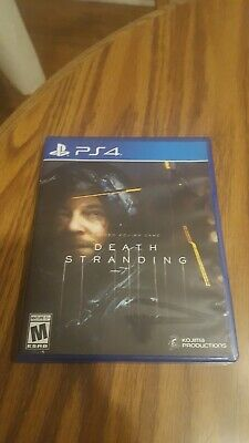 Death Stranding PS4 Standard Edition - Rarely Played