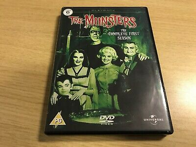 BOXED - The Munsters: Complete First Season (DVD, 2005, 6-Disc Set)