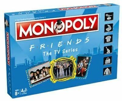 Monopoly FRIENDS The TV Series Board Game FREE TOP TRUMPS (M)