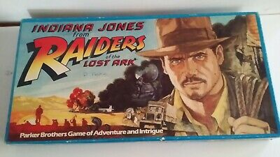 Indiana Jones from RAIDERS OF THE LOST ARK BOARD GAME 1981 Parker Bros