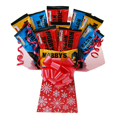 Nobbys Nuts Snack Bouquet Christmas Gift – Pub Snack Lovers Luxury Xmas Hamper