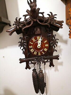 Famous Real Antique  Cooco Clock End 19C. In Very Good Condition
