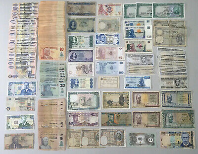 Job Lot X363 African Antique And Modern  Low Grade Banknotes  *D4