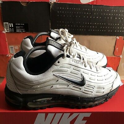 NIKE AIR MAX 2003 Vintage rare Black Leather EUR 140,00