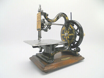 Antique Franklin Agenoria Sewing Machine c.1870 by Isaac Cole & Co, Edinburgh