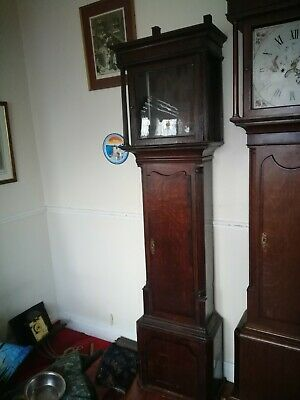 Longcase clock case