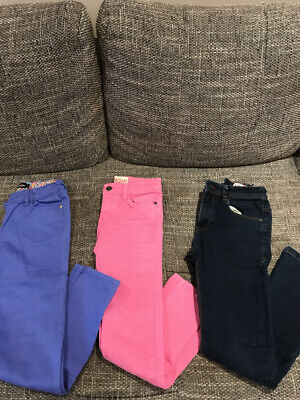 Girls Trousers Age 10-11 Years Bundle X 3 Perfect Condition