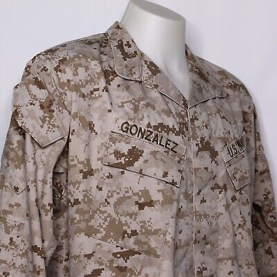 USMC Desert Blouse MARPAT Large Reg Digital Camo Uniform Top MCCUU Marine Corps