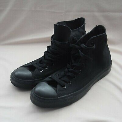 Converse Chuck Taylor All Star Black High Tops Mens Uk 9