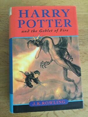 Harry Potter and the Goblet Of Fire, J.K Rowling HB, 1st ed 2nd Print Ted Smart