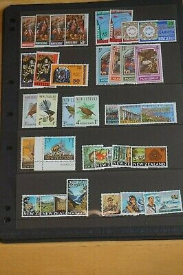 Commonwealth mid-period collection MNH