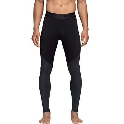 adidas Mens Alphaskin Sport Climawarm Running Tights Bottoms Pants Trousers