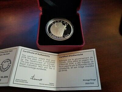 2014 The Bison - A Family at Rest $20 Silver Coin 1oz .9999 Fine(7500/7500)