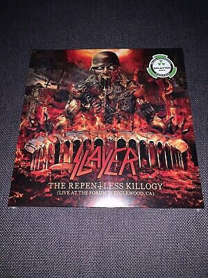 Slayer The Repentless Killogy 2lp Colored Vinyl Red/Black Limited 500 Metal