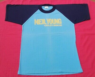NEIL YOUNG & CRAZY HORSE European Tour 2001 Folk Country Rock Grunge 60s 70s Vtg
