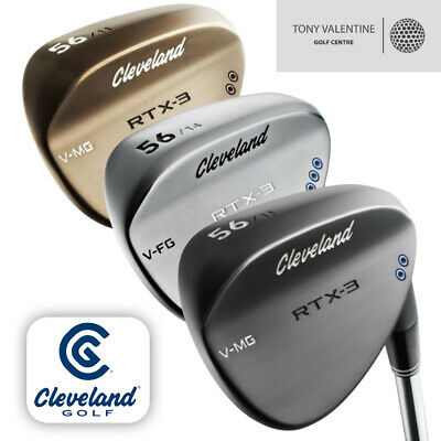 Cleveland RTX 3 Wedge / Available in Chrome, Black or Raw / Select your loft