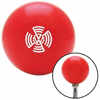 Black One Eye American Shifter 95051 Red Shift Knob with M16 x 1.5 Insert