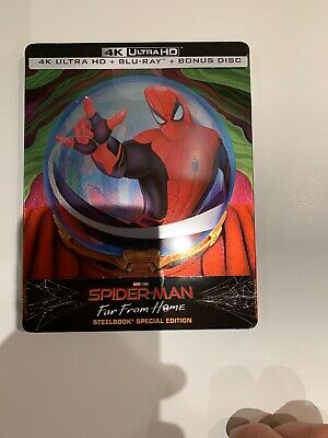 Spider-Man - Far from Home - Mysterio Limited (4K Ultra HD + 2 Blu-Ray Steelbook
