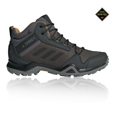 ADIDAS MENS TERREX Swift R2 Mid GORE TEX Walking Boots Black