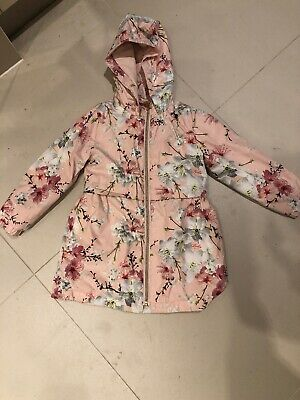 Girls 3-4 Years Ted Baker Blossom Print Jacket