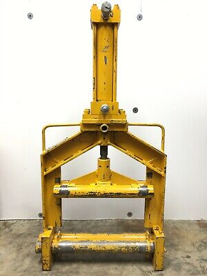 """Mustang Manufacturing Dbm-80 Hydraulic Plastic Pe Pipe Squeeze Tool 6"""" & 8"""" Ips"""
