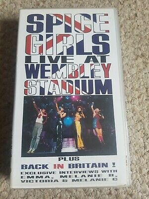 The Spice Girls - Live At Wembley Stadium (VHS, 1998)