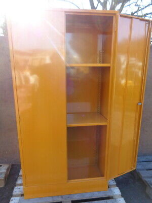Chemical Cabinet - With Spill Tray At Base - British Made *** Not From China