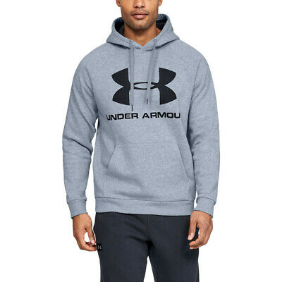 Hombre Under Armour Rival Solid Fitted Crew Sudadera