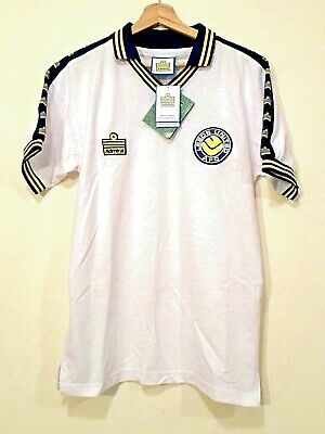 BRAND NEW! RETRO LEEDS UNITED FC Football SHIRT Jersey size S ADMIRAL TRICOT