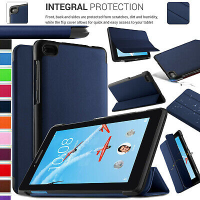 """Case For Lenovo Tab E7 7"""" TB-7104 Leather Magnetic Flip Stand Slim Smart Cover"""