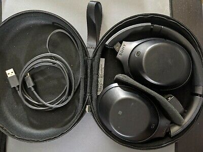 Sony 1000X Headband Headphones - Black