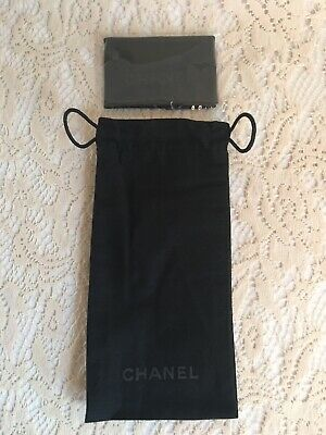 Original Chanel Eyeglasses & Sunglasses Soft Pouch and Cleaning Cloth