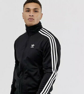Adidas Originals Firebird Track Jacket Black - Size-Medium- RRP-£60