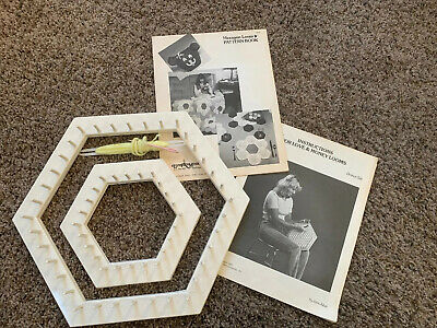 For Love & Money John Alan Hexagon Looms Plus Tying Shuttle & Pattern Books